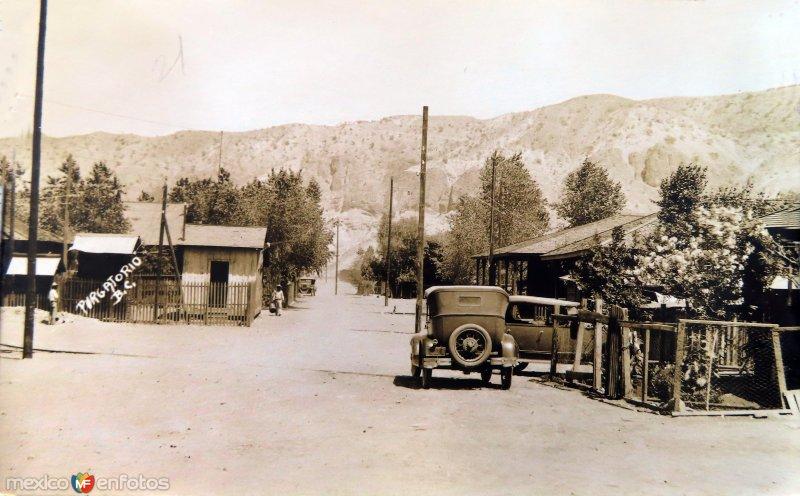 Calles de El Purgatorio, antiguas minas cerca de Santa Rosalía