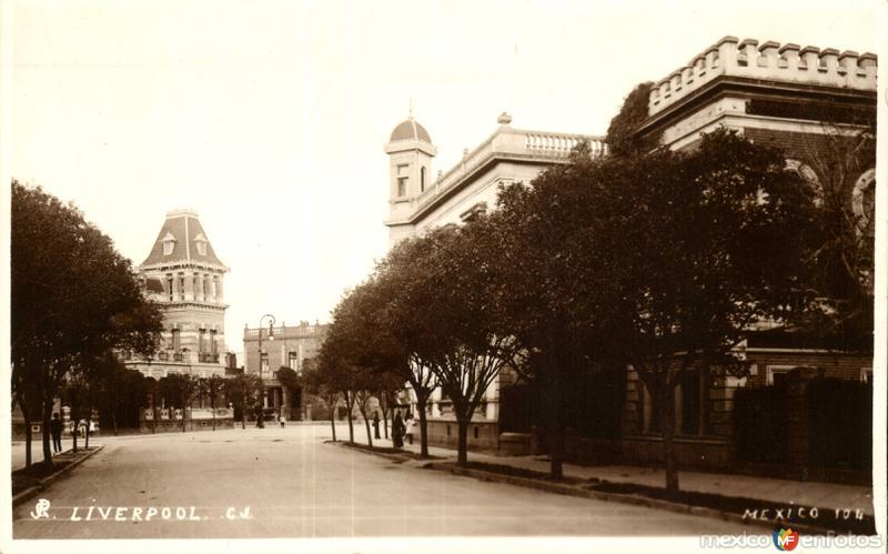 Calle de Liverpool