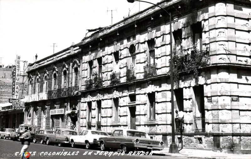 Calle Serapio Rendón