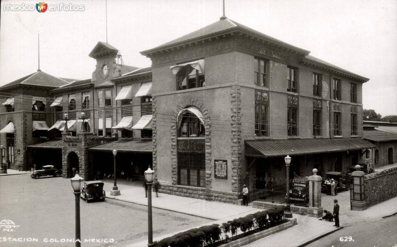 Estación Colonia México