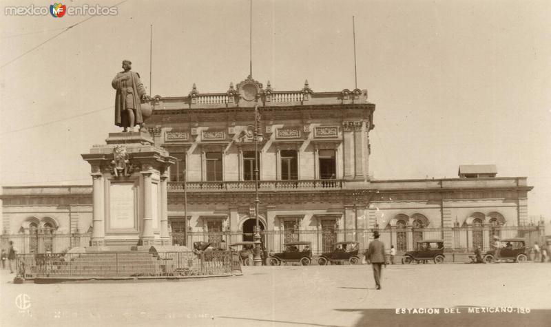 Estación del Ferrocarril Mexicano