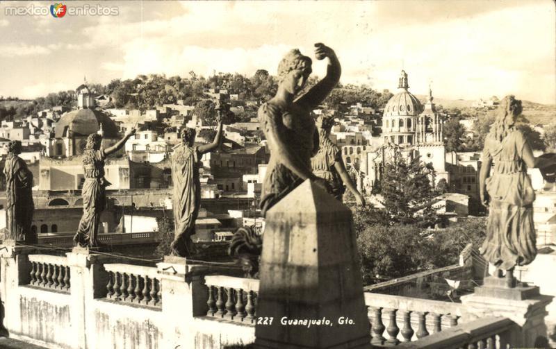 Guanajuato desde el Teatro Juárez