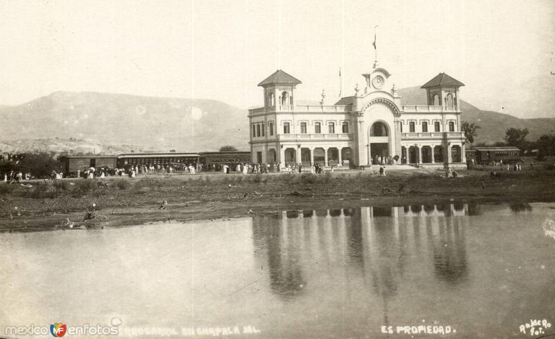 Ferrocarril en Chapala