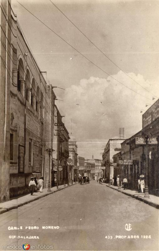 Calle Pedro Moreno