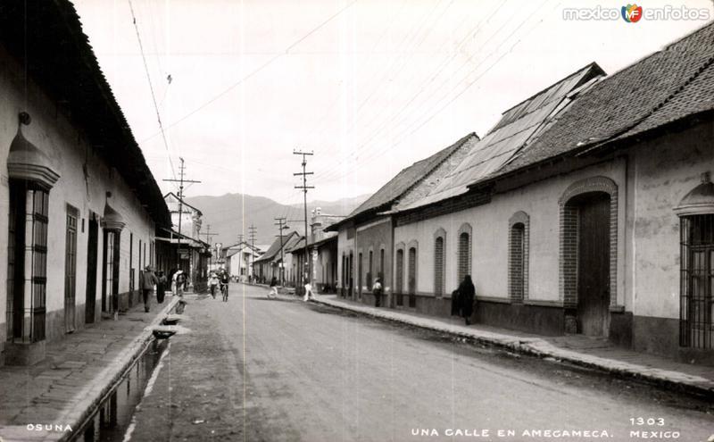 Calles de Amecameca