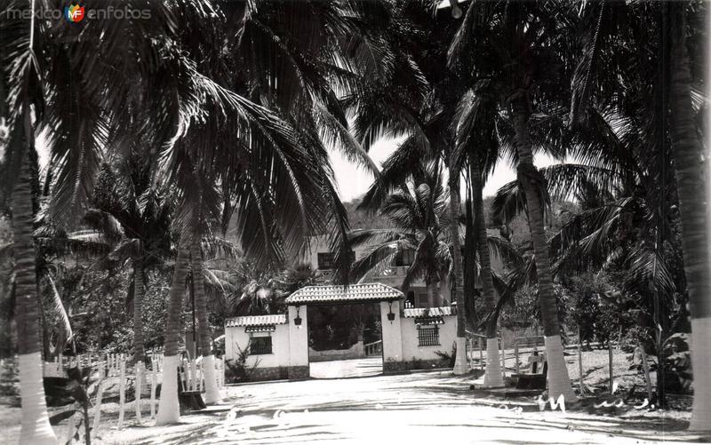 Postal antigua de Las Islas Marías