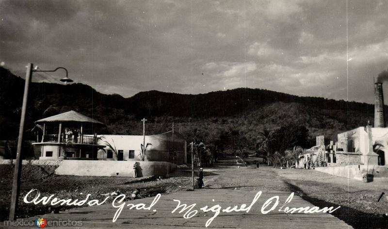 Avenida General Miguel Alemán