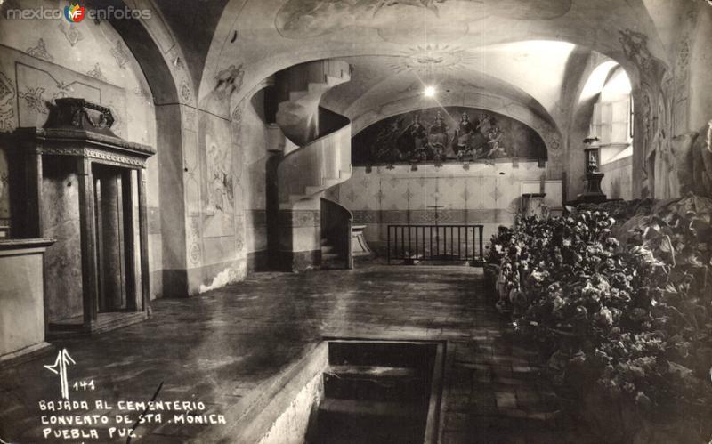 Bajada al Cementerio. Convento de Sta. Mónica