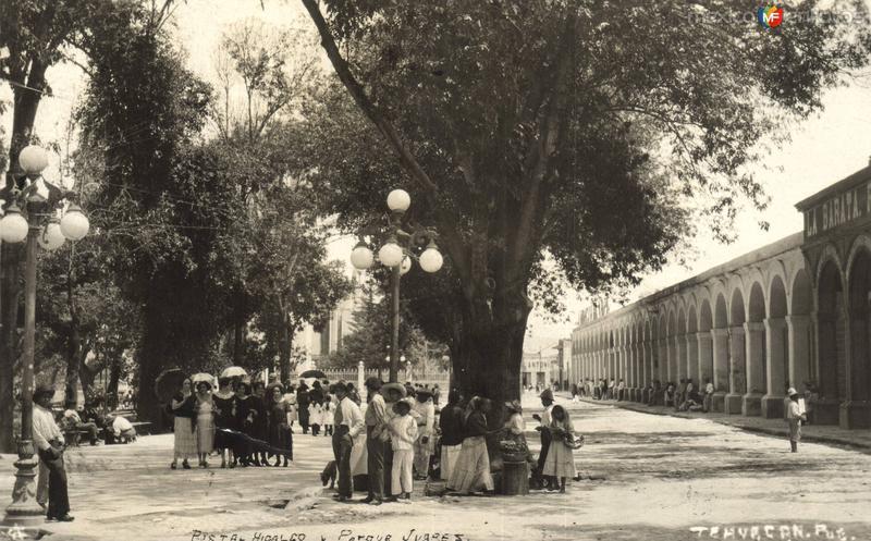 Portal Hidalgo y Parque Juárez