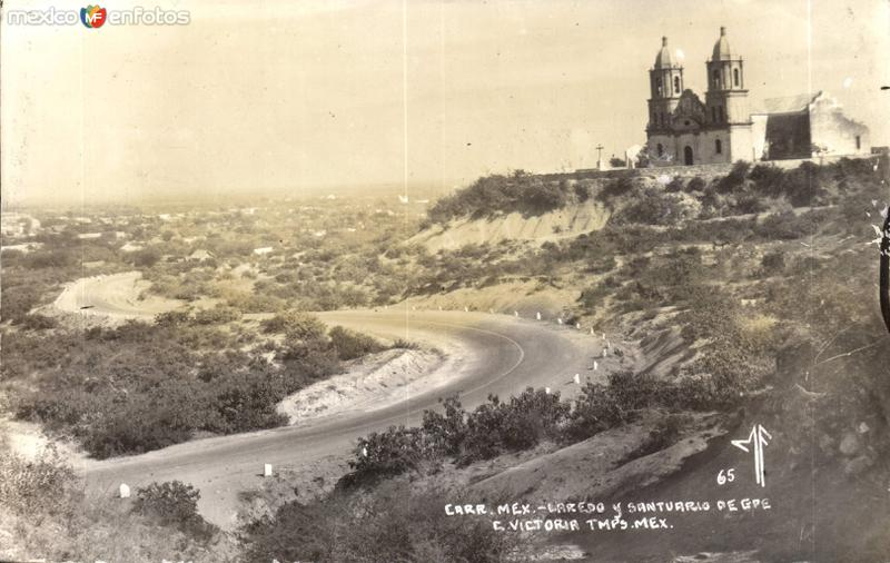 Santuario de Guadalupe en la Carretera México - Laredo