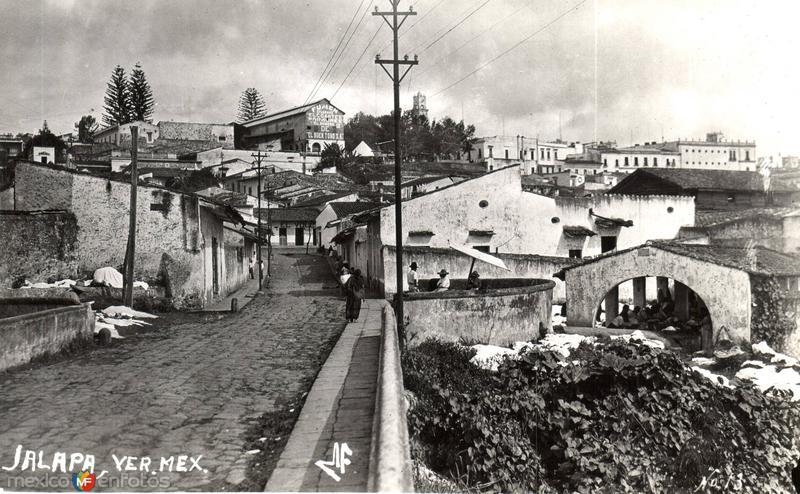 Calles de Jalapa