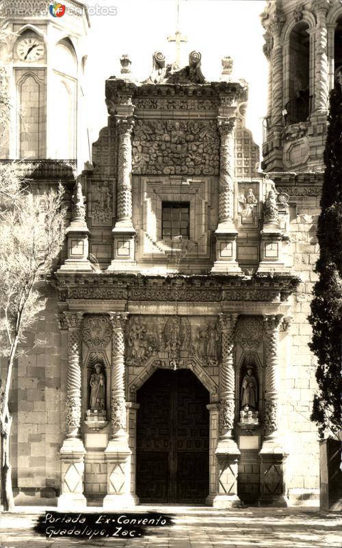 Portada del Convento de Guadalupe