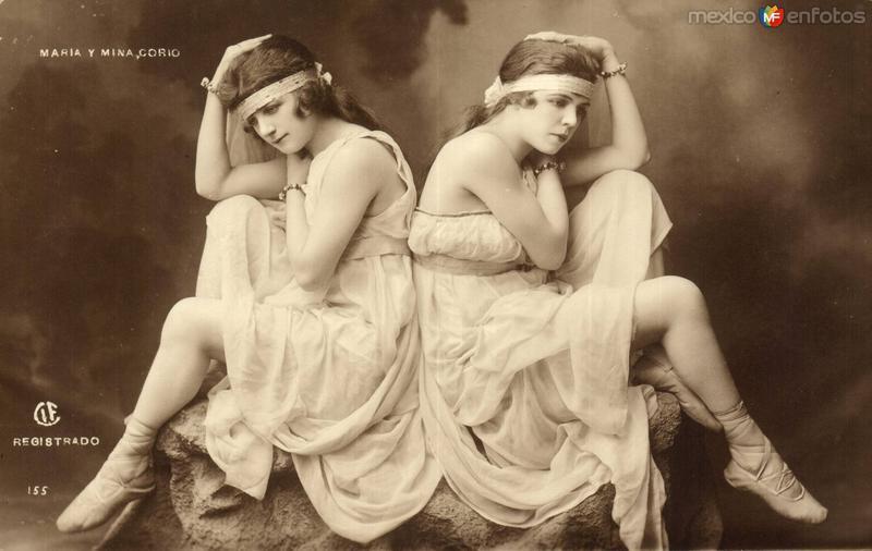María y Mina Corio
