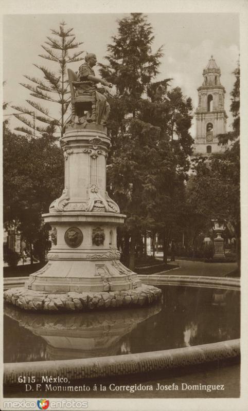 Monumento a la Corregidora, Doña Josefa Ortiz de Domínguez