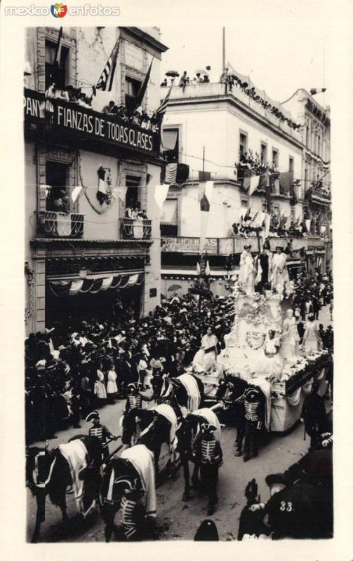 Fiestas del Primer Centenario de la Independencia (1910)