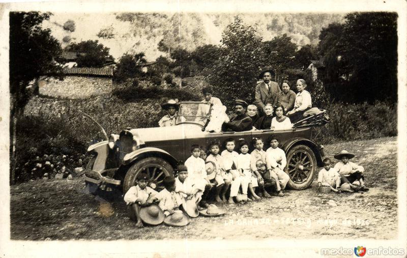 Paseo familiar por La Cañada. Mayo de 1926