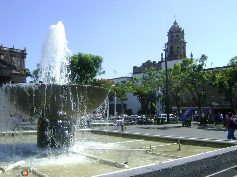 Plaza de La Liberación y Templo de San Agustín. Noviembre/2011