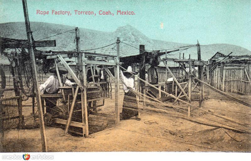 Fábrica de cuerdas
