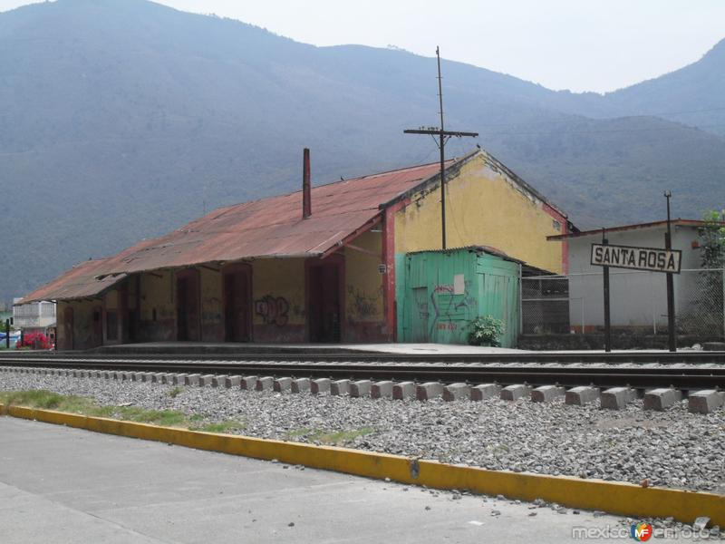 Antigua estación del ferrocarril de Santa Rosa
