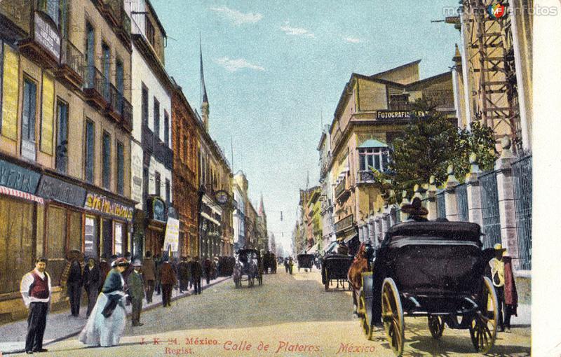 Calle de Plateros