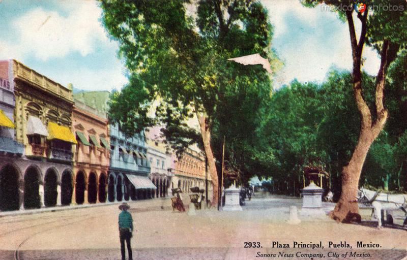 Plaza Principal de Puebla