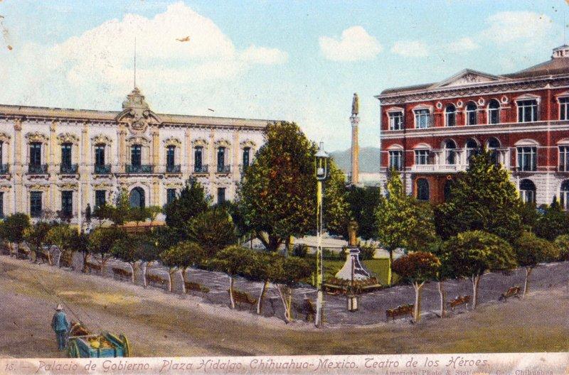 Palacio de Gobierno y Plaza Hidalgo