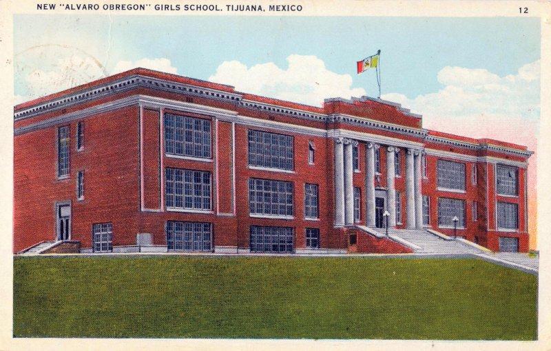 Escuela de niñas Alvaro Obregón