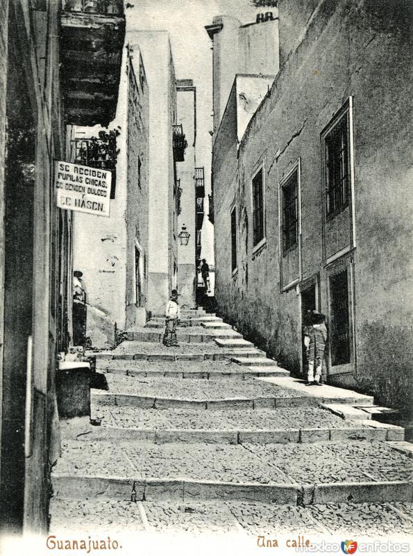 Callejón en Guanajuato