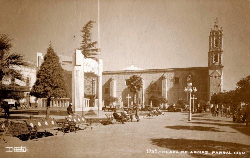 Plaza de Armas de Parral