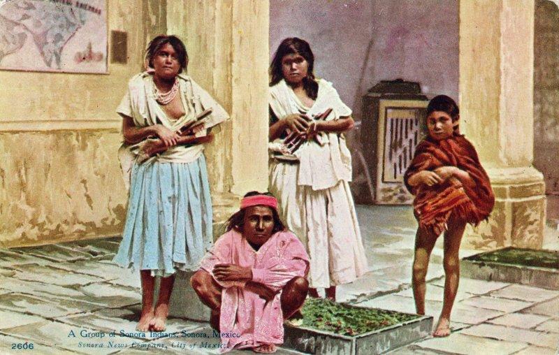 Indios Yaquis de Sonora