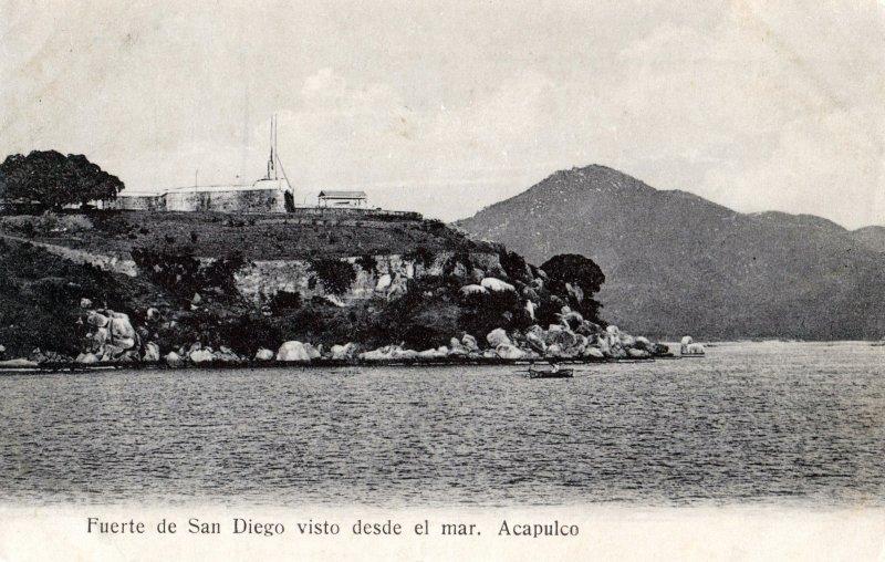 Fuerte de San Diego visto desde el mar