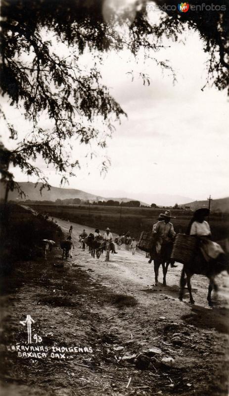 Caravanas indígenas