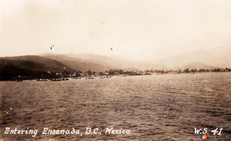 Entrada al Puerto de Ensenada
