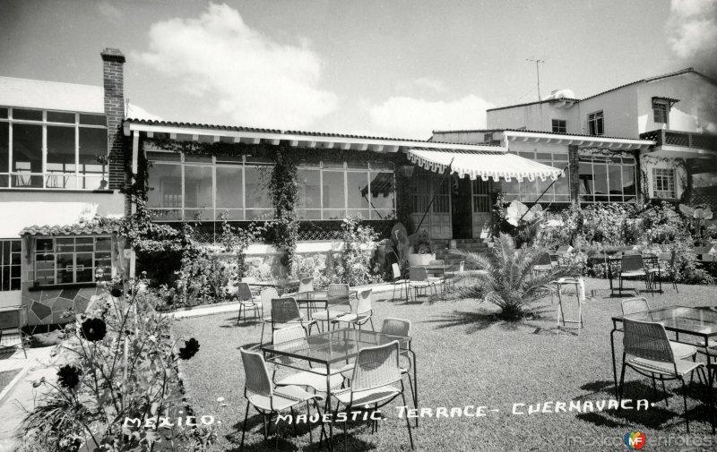 Terraza del Hotel Majestic