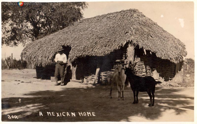 Una casa mexicana