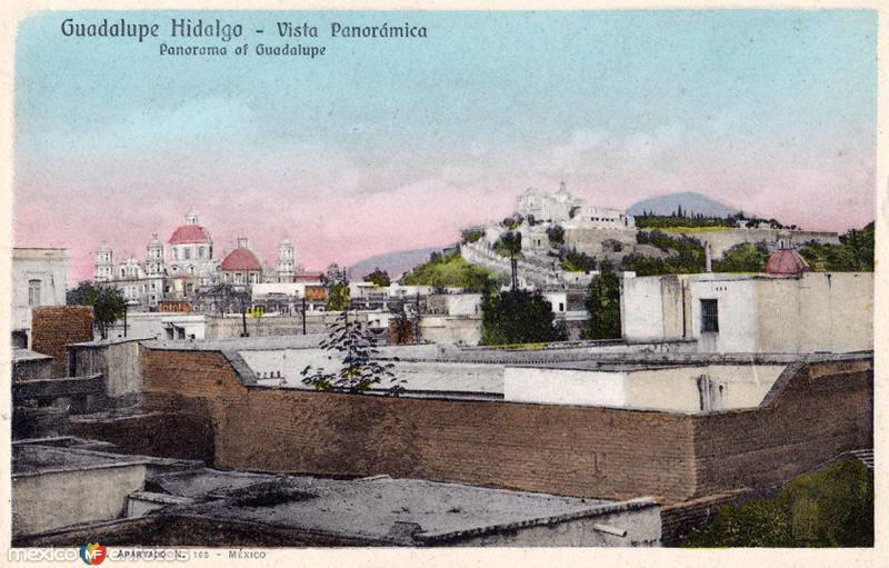 Vista panorpamica de Guadalupe Hidalgo