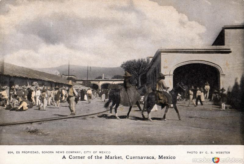 Una esquina del mercado