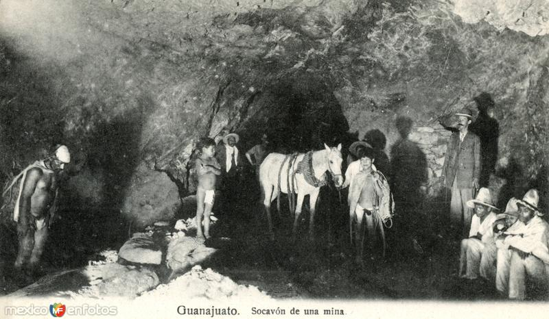 Socavón de una mina