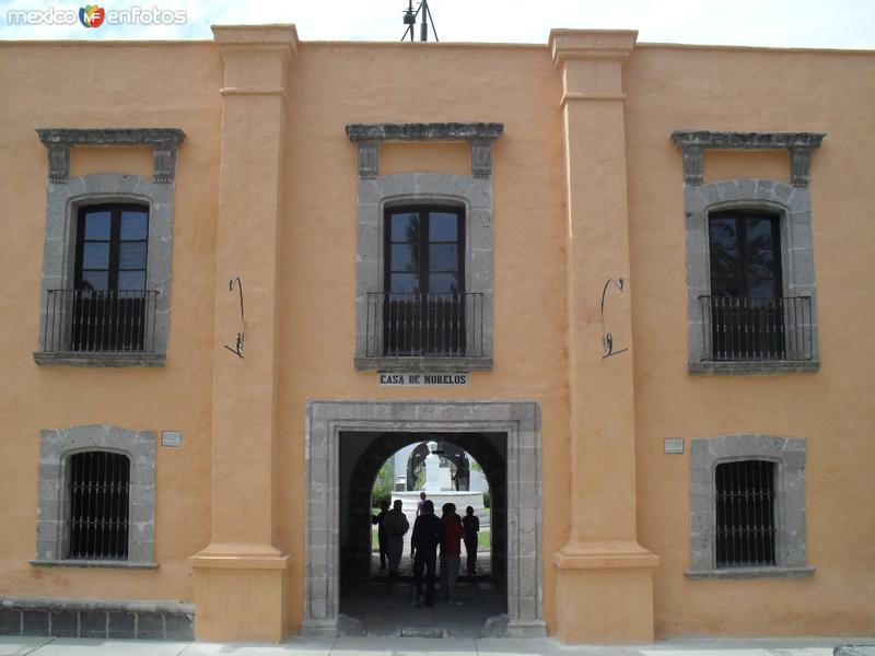 Fachada Casa de Morelos