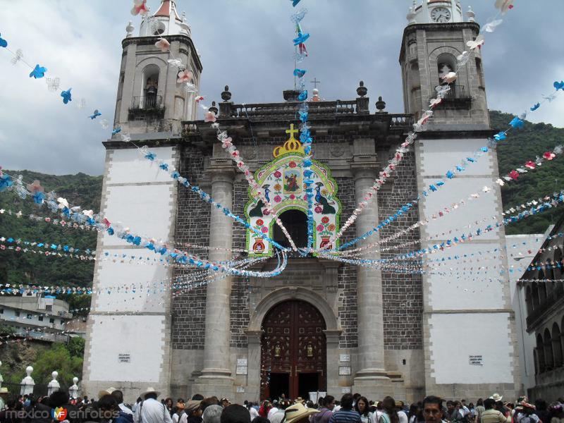 Atrio de la Iglesia de Chalma