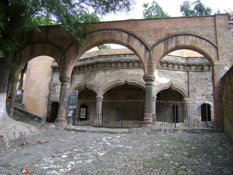 La Capilla abierta del ex-convento de la Asunción. Febrero/2012