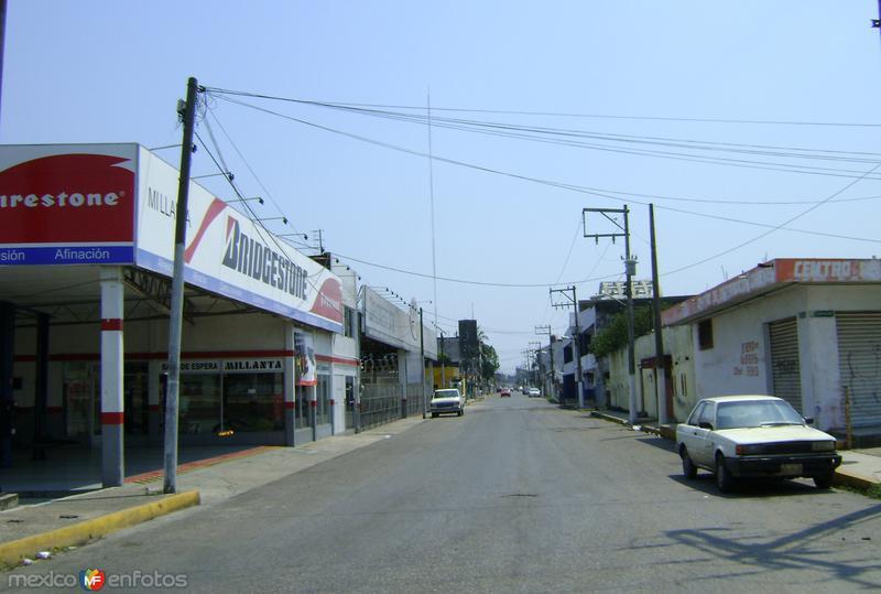 Calles de la ciudad de Cárdenas, Tabasco. Abril/2012