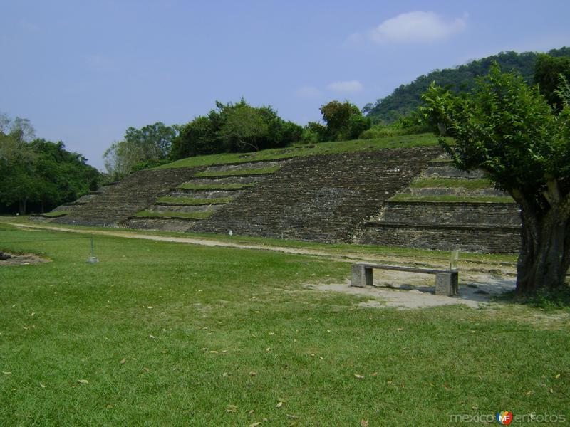 Pirámide en el Tajín, Veracruz. Marzo/2012