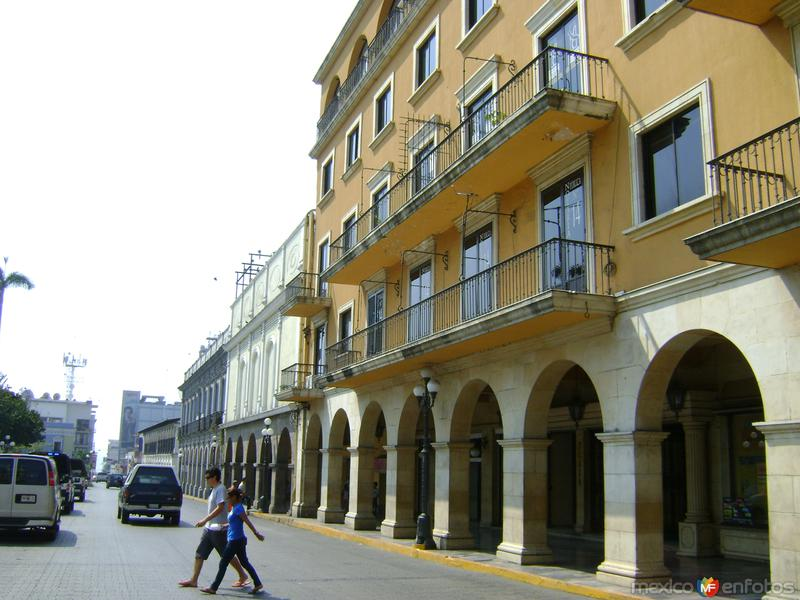Los portales en el centro de Córdoba. Abril/2012