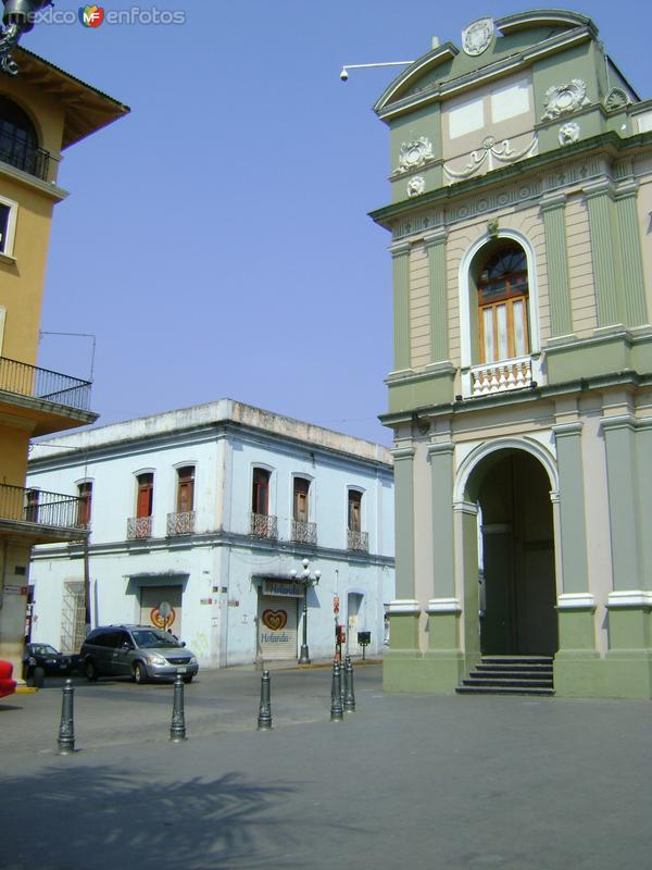 Detalle del Palacio Municipal y arquitectura colonial. Abril/2012