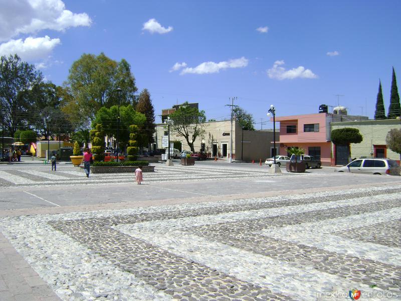 Atrio del Templo de San Pedro y San Pablo. Marzo/2012