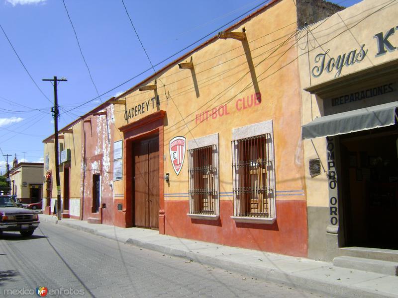 Calles del Pueblo Mágico de Cadereyta de Montes. Marzo/2012