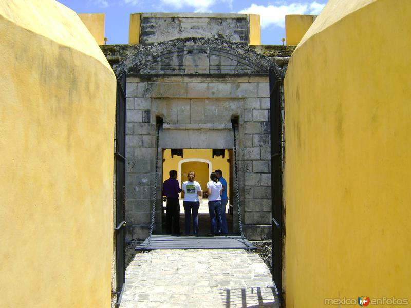 Entrada al Fuerte de San José el Alto. Abril/2012