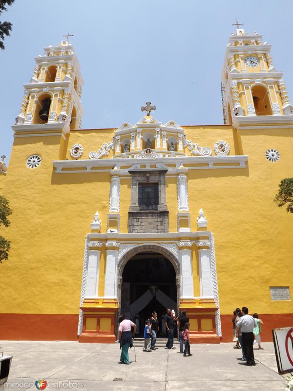 Fachada del Templo de San Antonio de Padua. Junio/2012