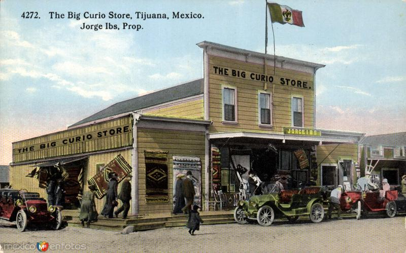The Big Curio Store, en Tijuana